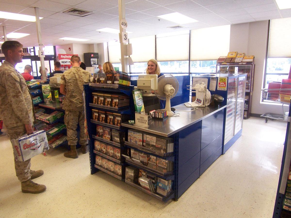 4d Upright Sales Counter Shopco U S A Inc