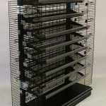 Wire Shelving with Power Wings