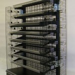 Wire Shelving with Power Wings 2