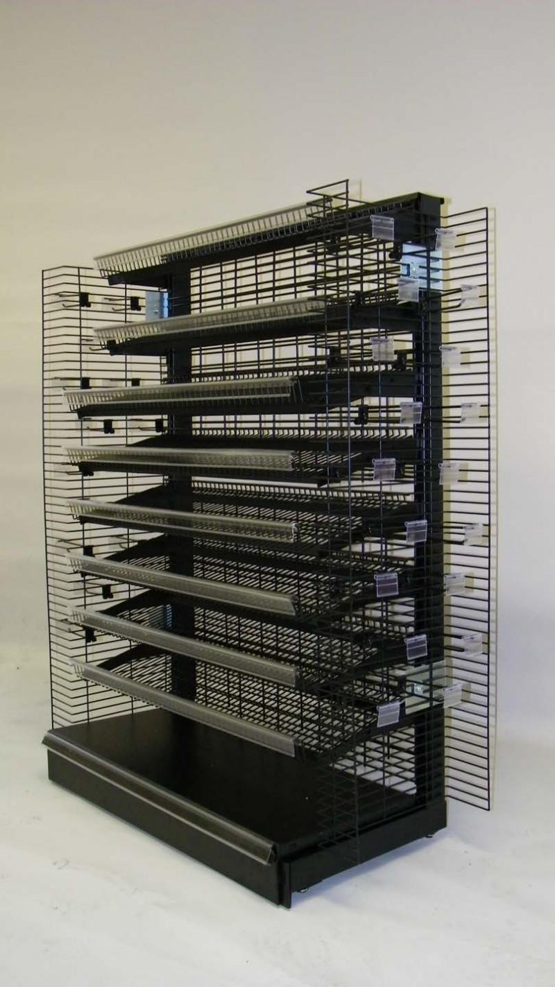 gondola shelving accessories wire grid gondola shelving shopco u s a inc 6894