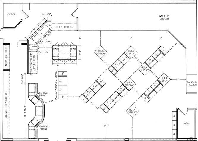 Convenience Store Floor Plans Layouts Shopco U S A Inc