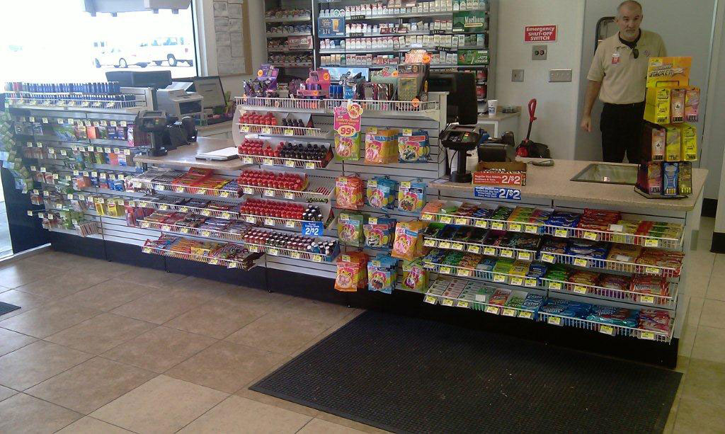 Retail Sales Counters & Checkout Counters for Convenience Stores
