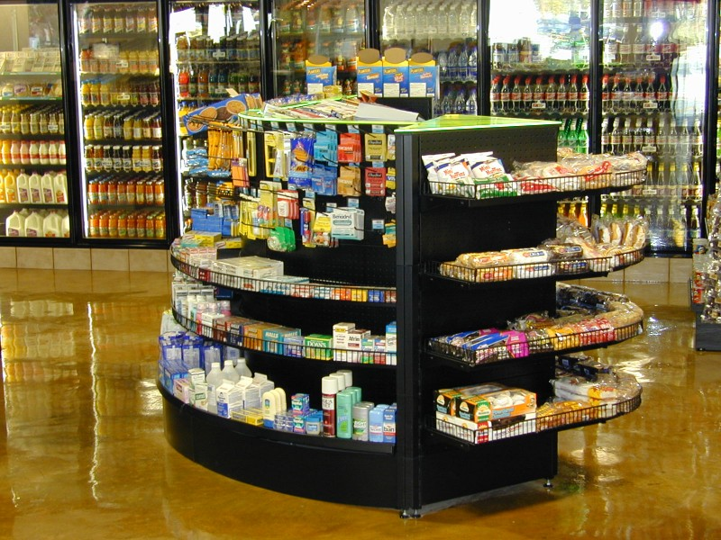 Convenience Store Shelving SHOPCO USA Inc