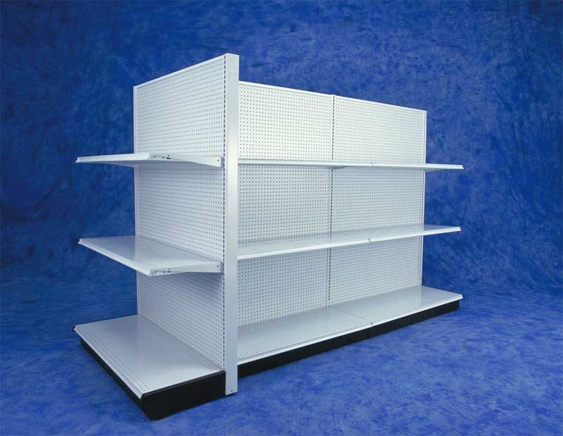 Madix Gondola Shelving Amp Black Gondola Shelves For
