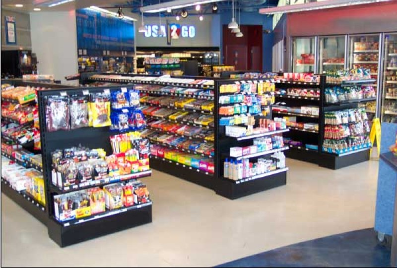 Convenience Store Shelving Shopco U S A Inc