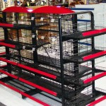 Wire Rack (black & red)