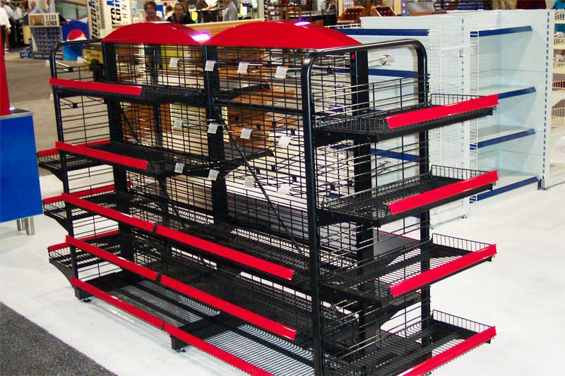 Wire Grid Gondola Shelving Shopco U S A Inc